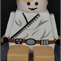 LEGO Luke Cake