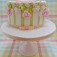 Garden Party 21st Cake