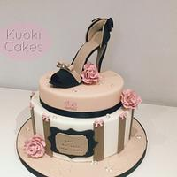 Glamour Birthday cake