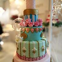 My marieantoniette cake