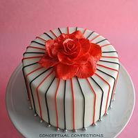 Red Disco Rose