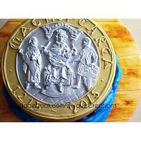 Magna Carta cake