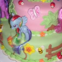My Little Pony This cake inspired by Cupcakes fit for Divines by Angie Mellen