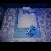 A shirt cake for my pastor