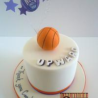 Upward Basketball Cake