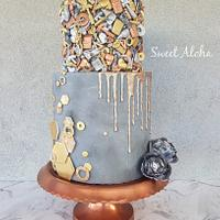 Rustic Masculine Cake (cake this again collab)