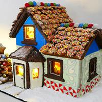 Gorgeous Gingerbread House