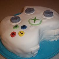 XBox Controller Cake by cakes by khandra