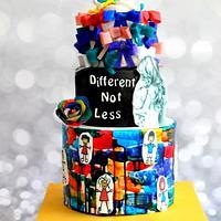 Sugar art for special needs children