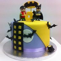 Batman & Robin Cake
