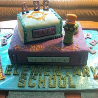 Book cake by Enchanted Cake on FB