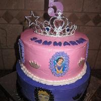 Good and Evil Princess Cake