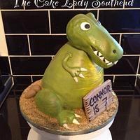 T. rex cake