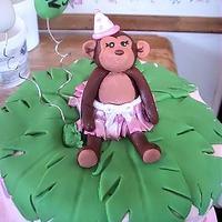 Birthday Monkey by Jessica (Faughn) Beard