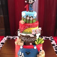 Mickey Mouse Granjerito!!