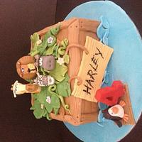 Madagascar theme by Bubba's cakes