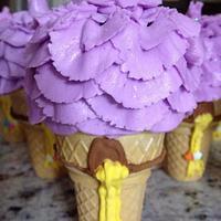 Rapunzel Cupcakes