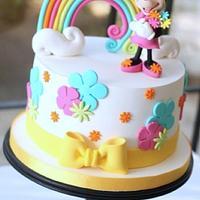 Minnie Mouse Rainbow Cake