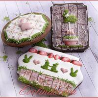 Biscotti decorati Easter cookies