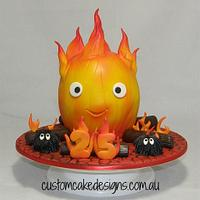 Karishifâ  Flame Cake (Howls Moving Castle)