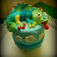 Mini Cake Camaleonte