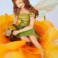 Spring Fairy Collaboration Honey Bee Fairy