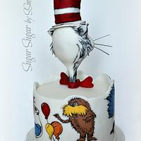 The Cat in the Hat - Icing Smiles by Sandra Smiley