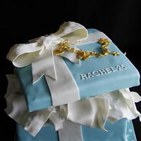 Tifanny Gift box by Cup'n'Cakes