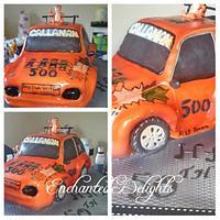 40th birthday cake Rally car
