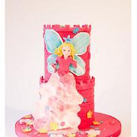 Princess Lilliefee Cake
