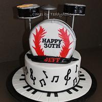 Musician Inspired Cake