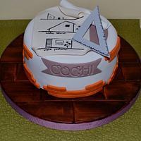 Architect Cake!