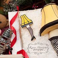 A Christmas Story - Leg Lamp Cake by SugarMommas Custom Cakes