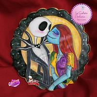 Jack and sally cookie