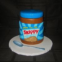 Skippy Peanut Butter Jar Cake