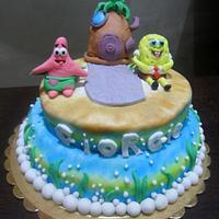 Spongebob's cake
