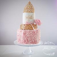 Little Princess 1st Birthday Cake