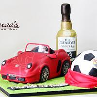 3D SCULPTED CAKE