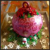Sweet 16 Christmas cake