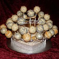 Wedding Cake Pops by Stef and Carla (Simple Wish Cakes)