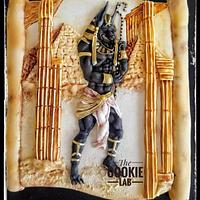 Anubis the god of afterlife..... Egypt Land of Mystery Collaboration