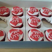 Man Utd Cup Cakes