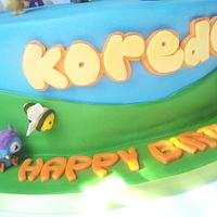 Moshi Monster Cake by Favoured Cakes