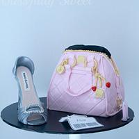 Manolos & Handbag Birthday Cake