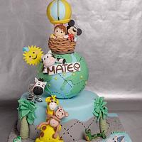 My cake for Mateo