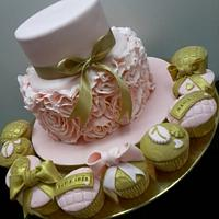 Vintage cake by Projectodoce