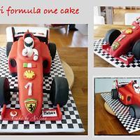 Ferrari formula 1 cake