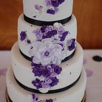 Wedding Cake by TheSweetFlour