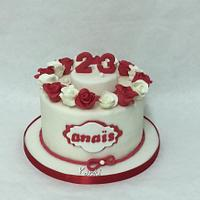 Cakes roses