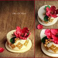 Mehndi Night Wedding CAke